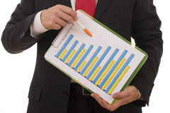 Financial Report Royalty Free Stock Photo