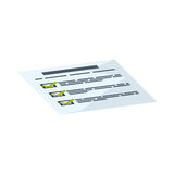 Financial report document. Icon  illustration graphic design Royalty Free Stock Photography