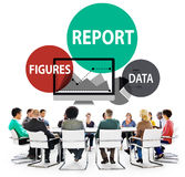 Financial Report Strategy Tactics Information Concept Stock Photography