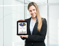 Financial reports Stock Images