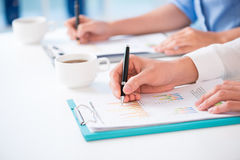 Financial reports Royalty Free Stock Image