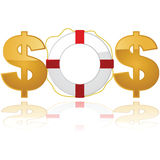 Financial rescue Royalty Free Stock Photography