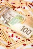 Financial risk Royalty Free Stock Photos