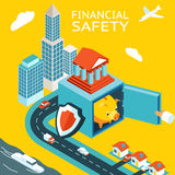 Financial safety and money making Stock Photo