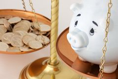 Financial Savings Stock Image
