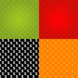 Financial Seamless Texture. In different colors, vector illustration Stock Photography