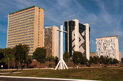 Financial Sector of Brasilia Royalty Free Stock Photo