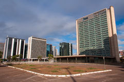 Financial Sector of Brasilia Stock Image