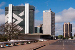 Financial Sector of Brasilia Stock Images