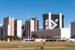 Financial Sector of Brasilia City Stock Photo