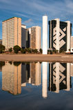 Financial Sector of Brasilia City Royalty Free Stock Images