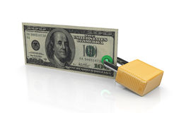 Financial security. 3d render of financial security concept Royalty Free Stock Photo