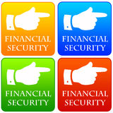 Financial security. Finding an easy and profitable way to financial security Royalty Free Stock Photos