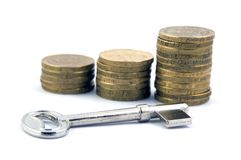 Financial Security. Business Financial Security Stock Photography