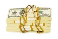 Financial security concept Stock Photos