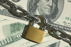 Financial security concept image Royalty Free Stock Images