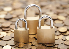 Financial security Royalty Free Stock Images