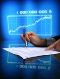Financial seminar Stock Photography