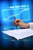 Financial seminar Stock Photo