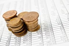 Financial series Stock Photos