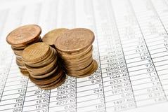 Financial series Stock Photos