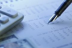 Financial settlement date  - Stock Image Royalty Free Stock Photo