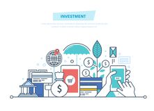 Financial smart investment, finance, banking, marketing, market data analytics, security. Financial smart investment, finance, banking, marketing, market data Royalty Free Stock Photo