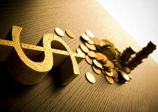 Financial solution Stock Images