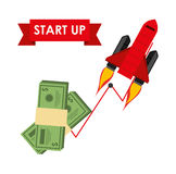 Financial start up Royalty Free Stock Image