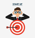 Financial start up Royalty Free Stock Images