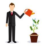 Financial startup Royalty Free Stock Photos