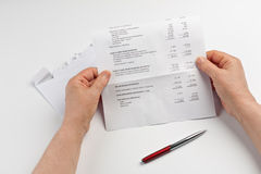 Financial Statement Stock Photography