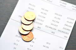 Financial Statement Royalty Free Stock Images