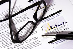 Financial Statement Royalty Free Stock Image