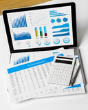 Financial statement Royalty Free Stock Photos