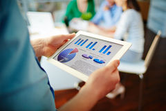 Financial statistic Royalty Free Stock Photography