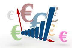 Financial statistics Stock Photos