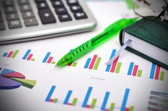 Financial statistics Royalty Free Stock Images