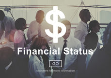 Financial Status Budget Credit Debt Planning Concept Stock Images
