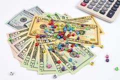 Dollar Finance Risk royalty free stock photos