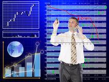 Financial stock royalty free stock photos