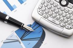 Financial stock market success Stock Photos