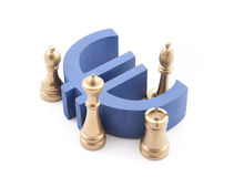 Financial strategy Stock Images