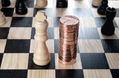 Financial strategy Royalty Free Stock Photo
