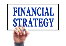 Financial strategy Royalty Free Stock Image