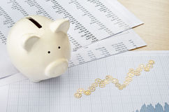 Financial strategy Stock Image