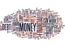 Financial Success Isn T Difficult Text Background Word Cloud Concept Royalty Free Stock Photos