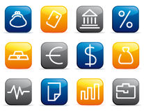 Financial symbols Royalty Free Stock Photo