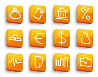 Financial symbols Stock Photography