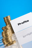 Financial theme with business stuff Stock Photo